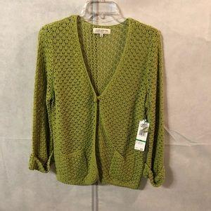 Jones New York  Women's Knitted Sweater Size LP